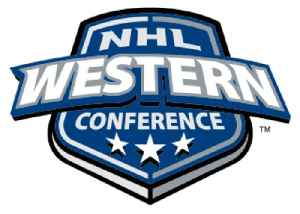 Western Conference (NHL): One of two conferences in the National Hockey League