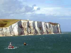 White Cliffs of Dover: Cliffs forming part of the English coastline
