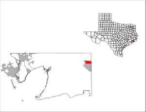 Winnie, Texas: CDP in Texas, United States