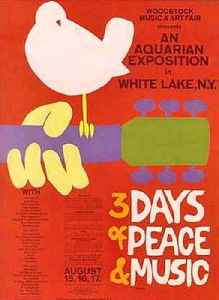 Woodstock: 1969 music festival in New York, United States