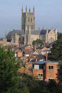 Worcester: Cathedral City and non-metropolitan district in England