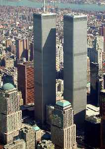 World Trade Center (1973–2001): Complex of buildings in Lower Manhattan, New York City, United States