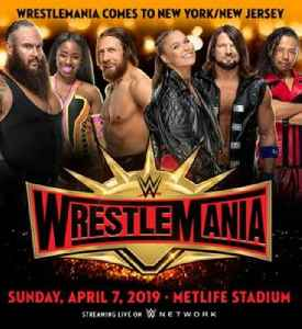 WrestleMania 35: 2019 WWE pay-per-view and WWE Network event