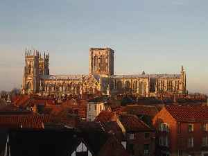 York Minster: Cathedral in the City of York, North Yorkshire, England