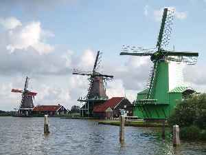 Zaandam: City in North Holland, Netherlands