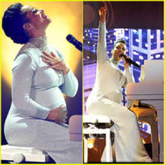 Pregnant Alicia Keys Embraces Her Baby Bump During MTV EMAs 2014 ... Alicia Keys Baby