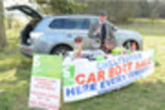 Car Boot Sale At National Star At Ullenwood Hailed As A