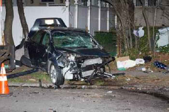 Man In Critical Condition After Queens Car Crash
