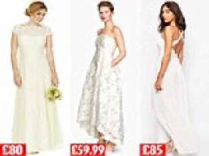 12 incredible wedding dresses for less than 100 one for Wedding dress for less than 100