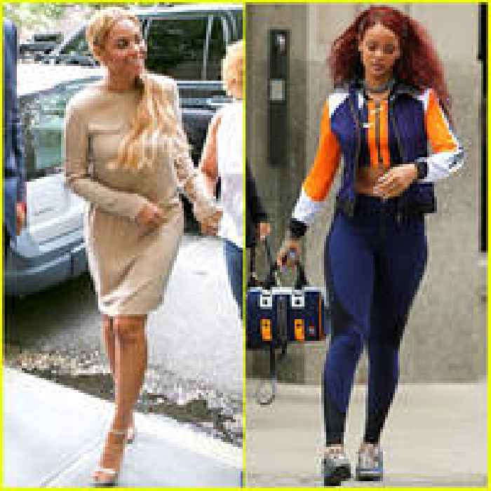 Beyonce Rihanna Step Out In Style In New York City One News Page