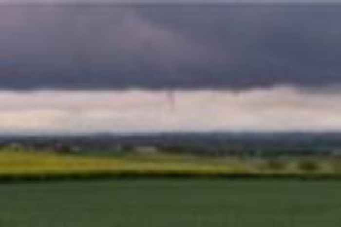 Did You Spot This Funnel Shaped Cloud Spotted Over A39 One News Page Uk