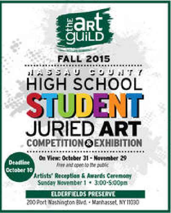 Call For High School Artists In Nassau County