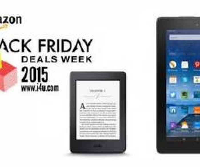 Amazon Black Friday 2015 Kindle And Fire Deals Unveiled