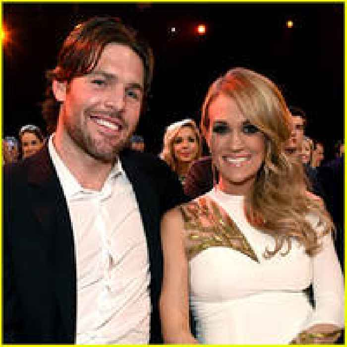 Carrie underwood husband mike fisher 39 s first kiss was on for Carrie underwood husband mike fisher