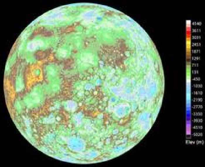 This Is What the Surface of Mercury Looks Like - One News Page