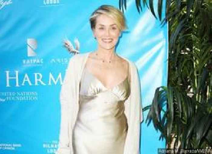 Sharon Stones Nipple Slips Out Of Her Tiny Bikini During A Beach Trip One News Page Us