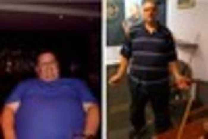 Slimming World Member Mark Mead Kidd Aka Chubby Of