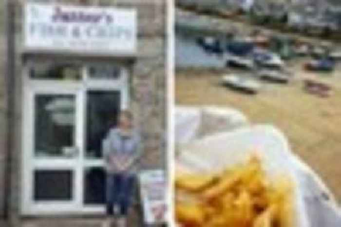 Mousehole loses its only fish and chip shop on saturday for Az game and fish portal