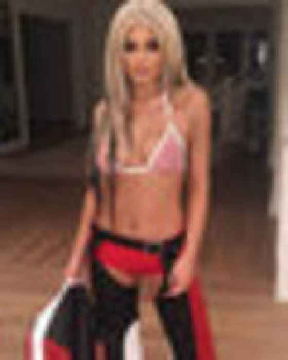 Too Dirty To Clean Her Act Up: Kylie Jenner Dons Bra And
