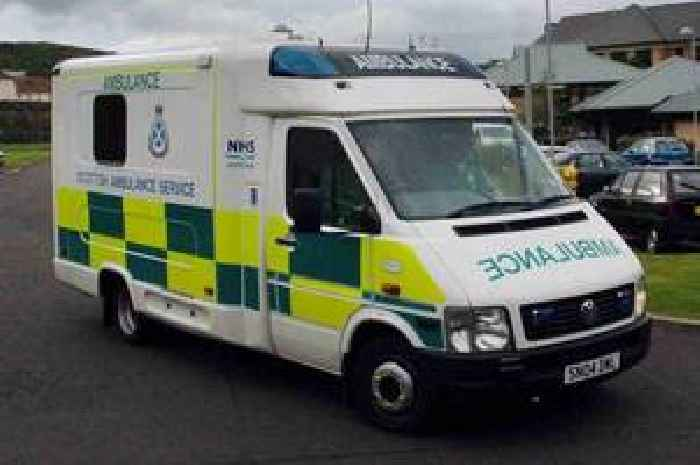 five taken to hospital after falling unwell at alexandria