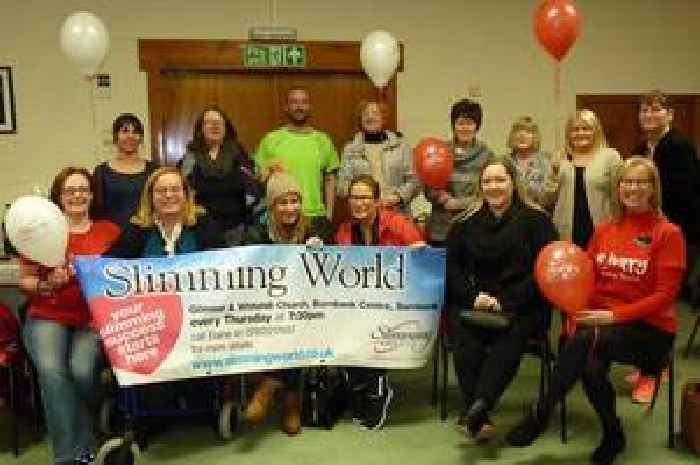 Burnbank Slimming World group lost whopping 137 stones in ...