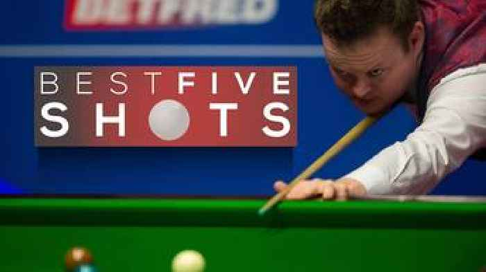 world snooker results today
