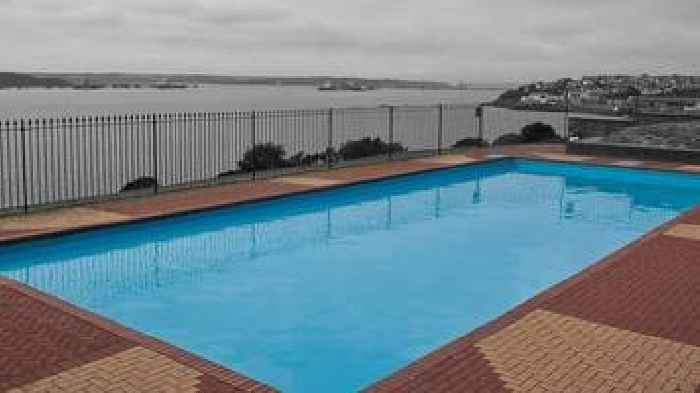 Milford haven outdoor pool to open in july after donations for Outdoor pools open