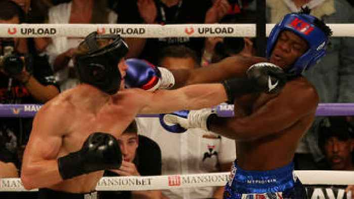 KSI v Logan Paul: YouTube boxing fight ends in a draw ...