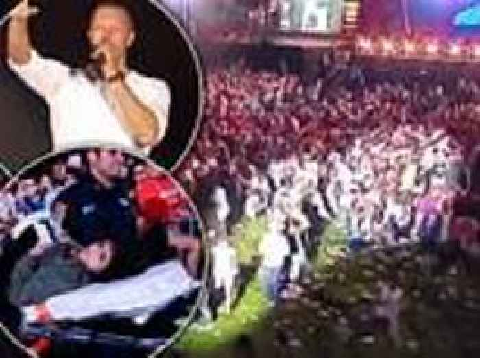 Thousands Stampede At Global Citizen Concert In Central