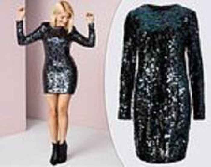 d710f477 Shoppers go wild over Holly Willoughby's £55 sequin mini dress from M&S