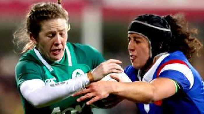 f75df47cc37 Women's Six Nations: France notch seven tries in 47-17 win over Ireland in  Dublin - One News Page [US]