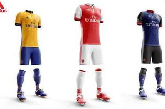 New Arsenal 2019/20 Adidas Kits: Leaked Images Of New Home