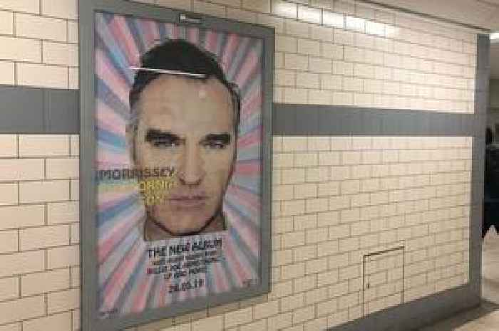Rail Chiefs Take Down Morrissey Adverts Because Commuter