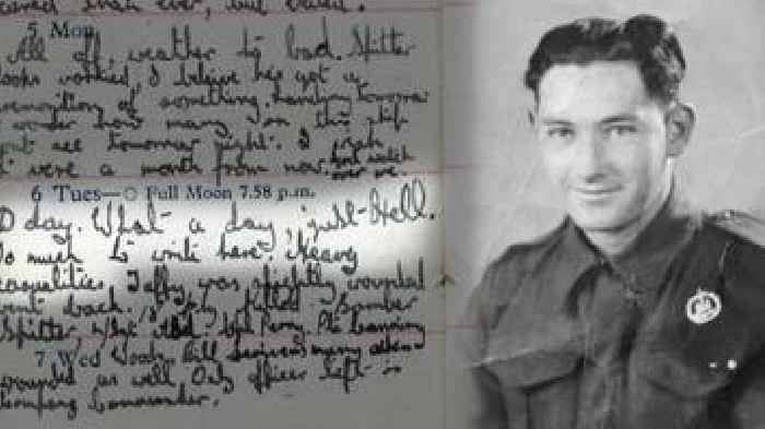 Dorset solider's illegal D-Day diary revealed in new book