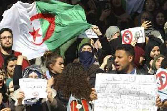 Algerians rally for change after presidential polls scrapped