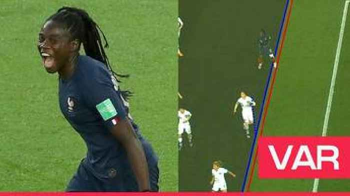 Women's World Cup 2019: Mbock Bathy's goal for France is ruled out by VAR