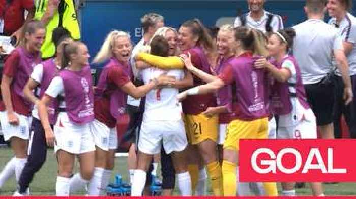 Women's World Cup 2019: England take the lead against Scotland after Nikita Parris' VAR penalty