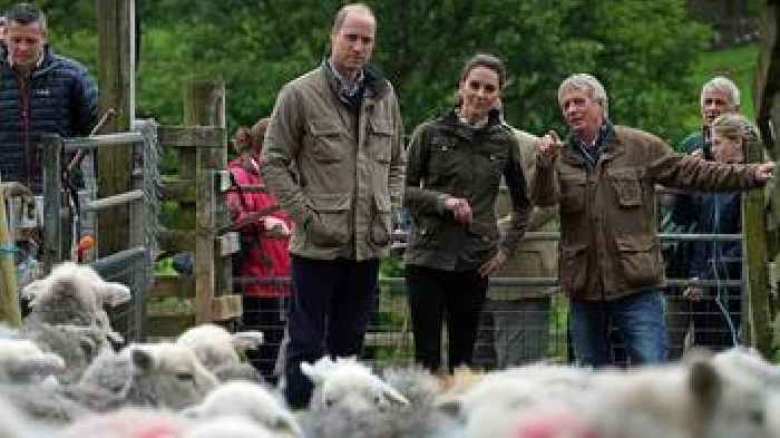Duke and Duchess of Cambridge visit the Lake District