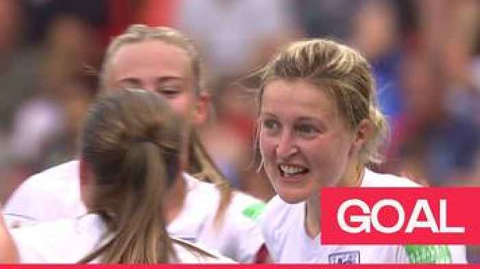Women's World Cup 2019: White doubles England's lead following a VAR review