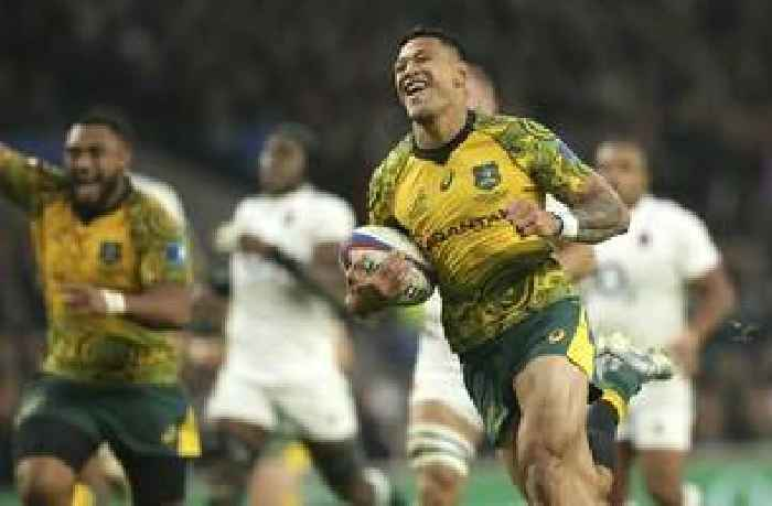 Israel Folau GoFundMe page removed for 'violating terms of service'