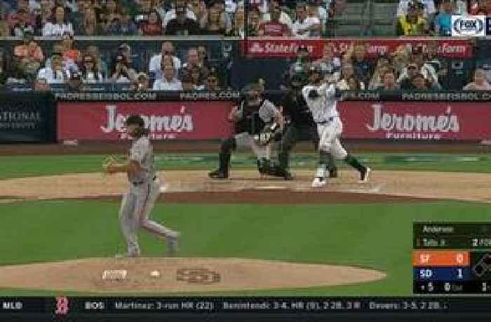 HIGHLIGHTS: Tatis Jr. homers, Padres ride timely hitting to 5-1 win over Giants