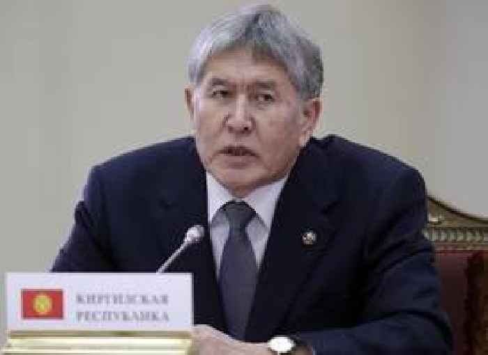 Shots Fired As Kyrgyz Special Forces Storm Former President Atambayev's Mansion