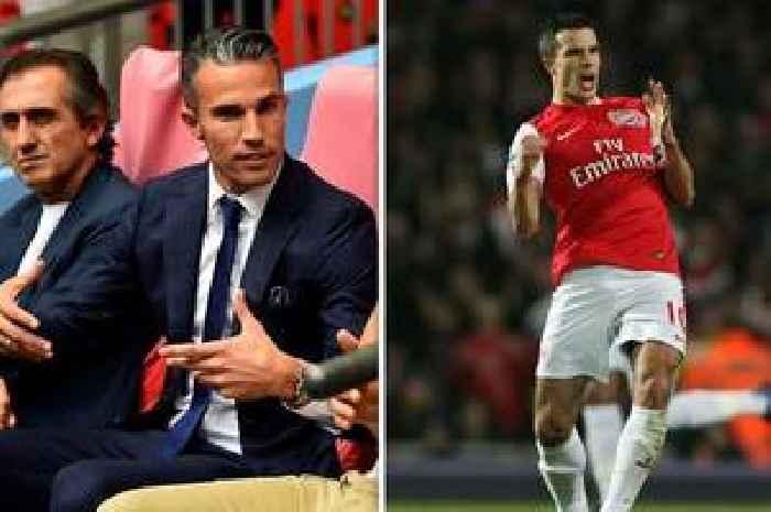 Robin van Persie attends Arsenal vs Burnley with BT Sport - and return falls on Man Utd transfer anniversary