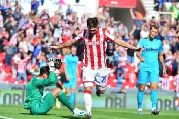 Stoke City 2 Derby County 2 match report in 90 seconds: Scott Hogan strikes but Martyn Waghorn denies first win