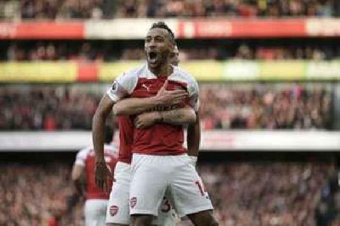 Pierre-Emerick Aubameyang scores another winner as Arsenal pip Burnley in EPL