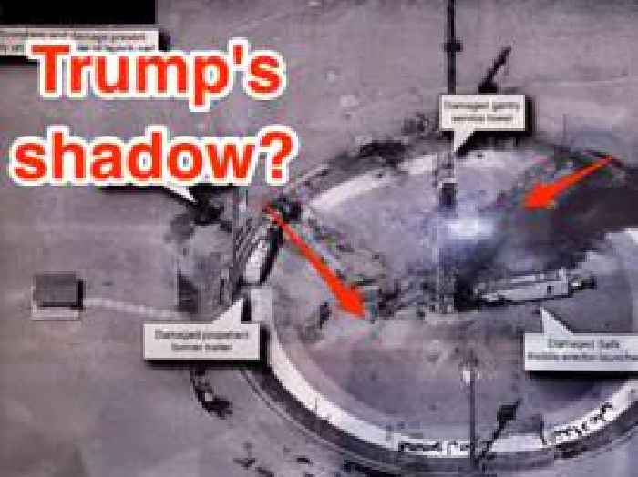 Trump may have revealed US military secrets by tweeting a photo to taunt Iran