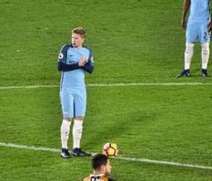 Guardiola waits on De Bruyne for after the international break