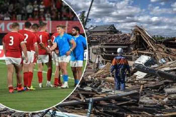 The Rugby World Cup morning headlines as player cited after Wales match, 31 confirmed dead and three All Blacks stars hit by bereavement