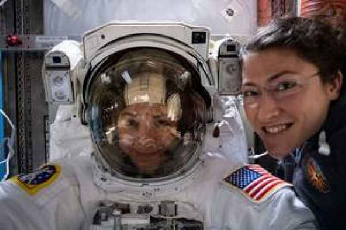 Female astronauts schooled Trump from outer space