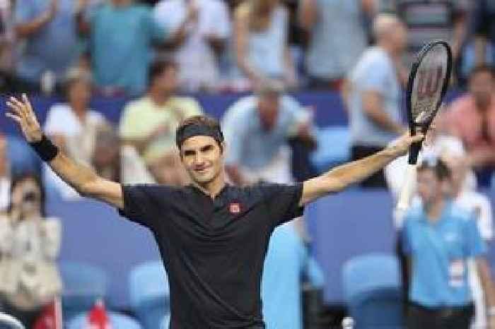 Tennis-Federer ousts Tsitsipas in Basel semis for 50th win of the season